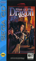Rise of the Dragon Sega CD Cover