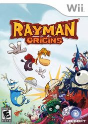 Wii Rayman Origins Cover