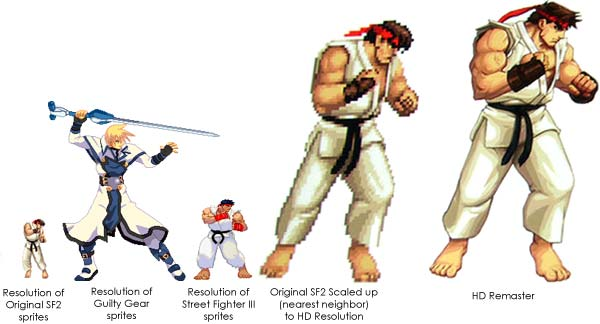 Super Street Fighter 2 Turbo HD & It's Massive Sprites ...