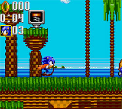 Sonic Triple Trouble Screenshot