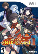 Castle of Shikigami III Cover