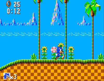Sonic Master System Screenshot