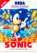 Sonic the Hedgehog Master System Cover