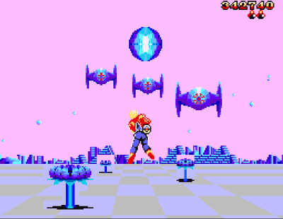 Space Harrier 3D Screenshot