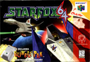 Star Fox 64 Box