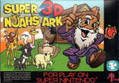 Super 3D Noah's Ark Cover Art