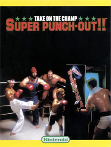 Super Punch Out Arcade Flyer