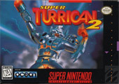 Super Turrican 2 Cover Art