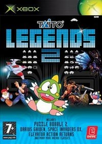 Taito Legends 2 Cover