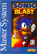 Sonic Blast Tec Toy Master System Cover