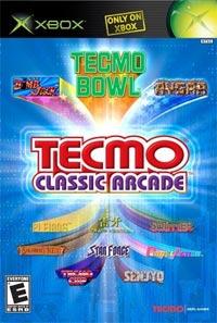 Tecmo Classic Arcade Cover