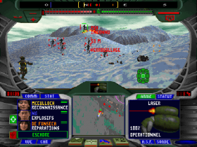 terra-nova-strike-force-centauri-dos-screenshot-battling-it