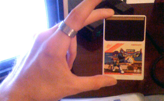 TurboGrafx games. They look like credit cards By ORAZ Studio