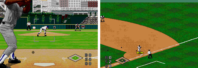 World Series Baseball '95 Screens