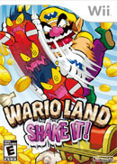 Wario Land Shake It Cover