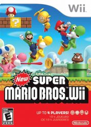 Wii New Super Mario Bros Box