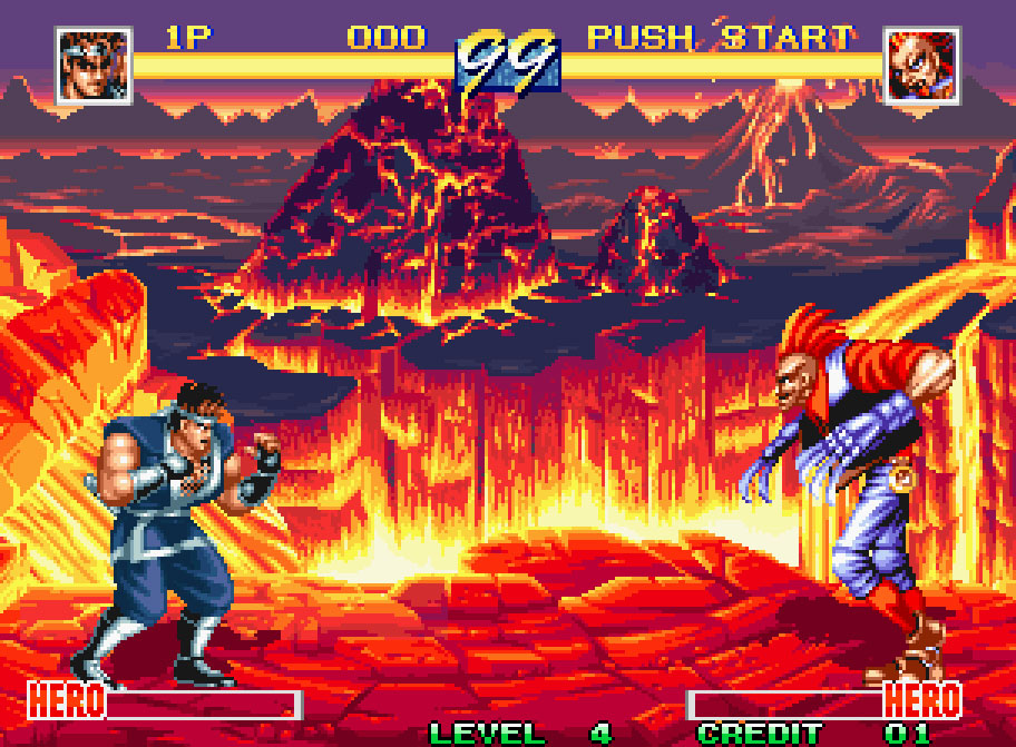 Another Early Fighter On The Neo Geo, World Heroes Feels A Whole Lot Like  Street Fighter. Despite This, The Series Developed Nicely Over Time And  Became A ...