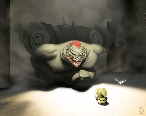 Ganon vs Link by Francisco Perez and Daniel Alexander