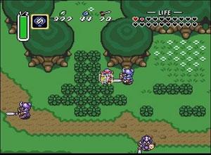 Legend of Zelda: Link to the Past Four Swords Screenshot