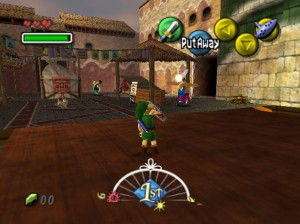 Zelda Majora's Mask Screenshot