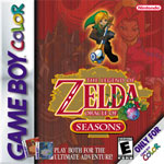 Zelda Oracle of Seasons Box