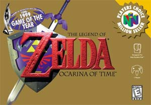 Legend of Zelda OOT cover