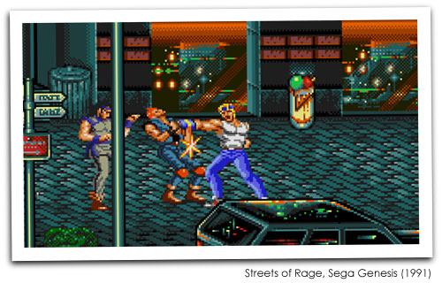 Streets of Rage Screenshot