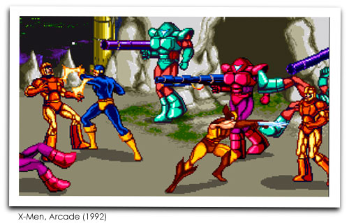 X-Men Arcade Screenshot