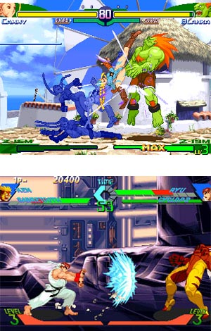 Street Fighter Alpha 3 - Sega Saturn Screenshot