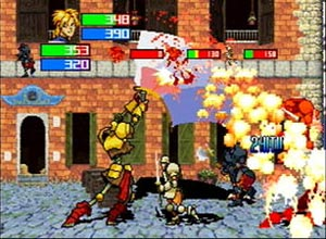 Guardian Heroes - Sega Saturn Screenshot