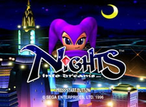 Nights into Dreams - Sega Saturn Screenshot