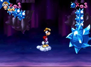 Rayman - Sega Saturn Screenshot