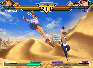 Capcom vs SNK EO Gamecube Screenshot