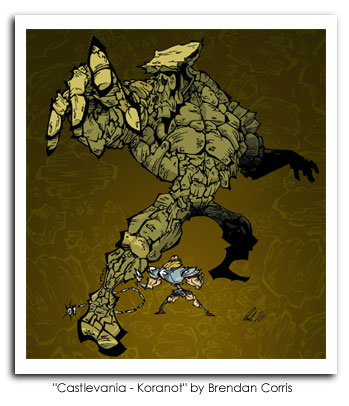 Castlevania - Koranot by Brendan Corris