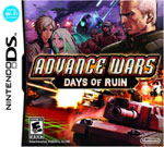 Advance Wars Days of Ruin DS Cover