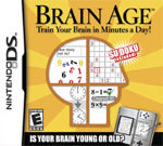 Brain Age DS Cover