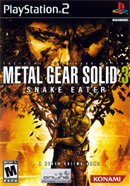 Metal Gear Solid 3 Cover