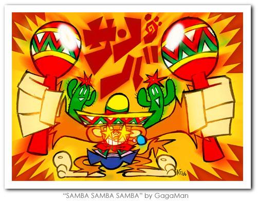 """""""SAMBA SAMBA SAMBA"""" by Gagaman"""