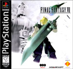 Final Fantasy VII Black Label Cover Art