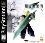 Final Fantasy VII Black Label Cover Art