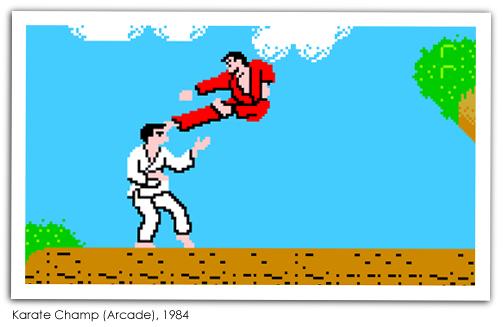 Karate Champ (Arcade), 1984