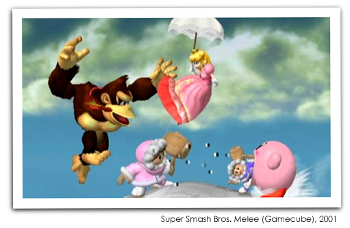 Super Smash Bros Melee (Gamecube), 2001