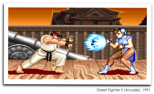 Street Fighter II (Arcade), 1991