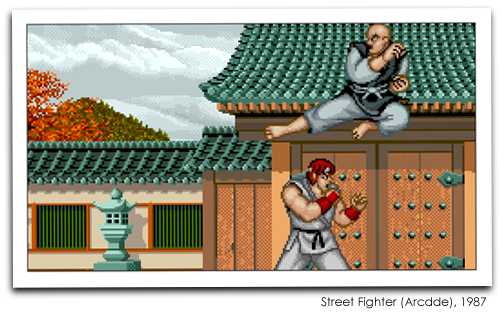 Street FIghter (Arcade), 1987