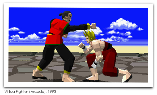 Virtua Fighter (Arcade), 1993