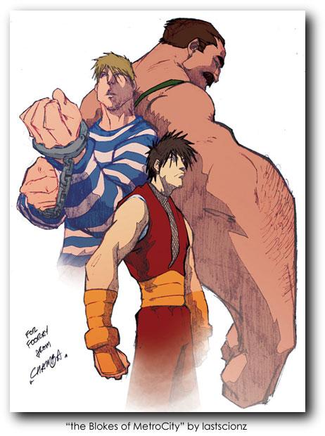 Final Fight Fan Art 01