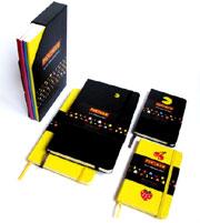 Pac-Man Moleskine Notebooks