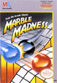Marble Madness NES Cover