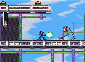 Megaman X Collection Gamecube Screenshot