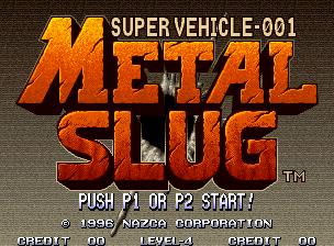 Metal Slug Title